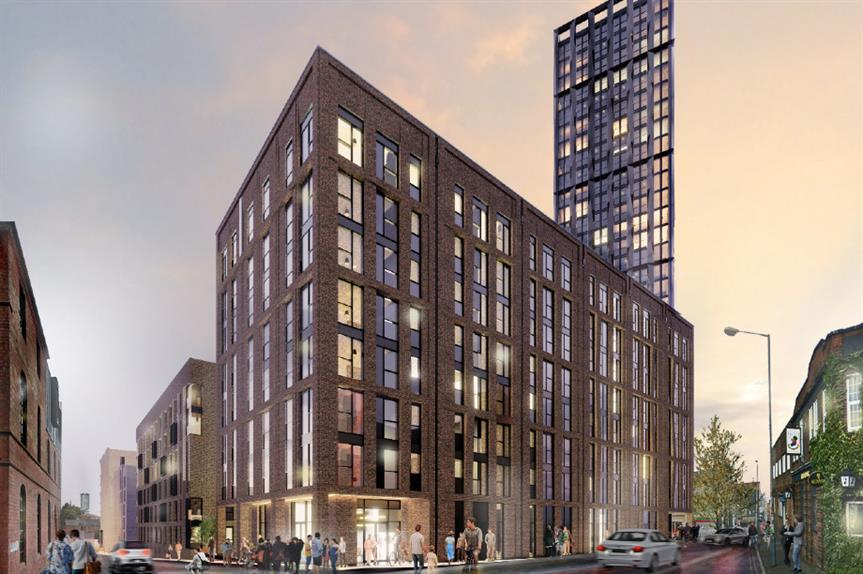 A CGI of the proposed Stone Yard development in Birmingham. Image: Court Collaboration