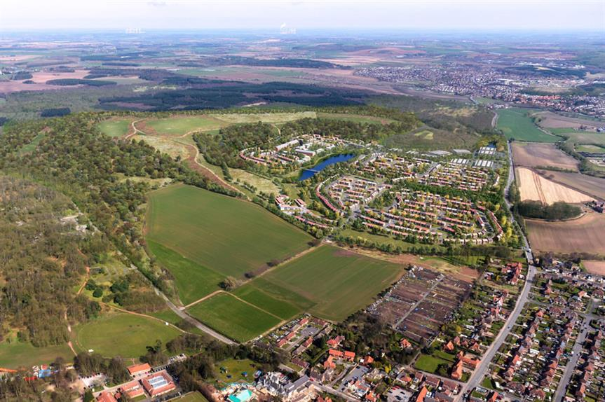 A visualisation of the finished development (pic: Harworth Group plc)