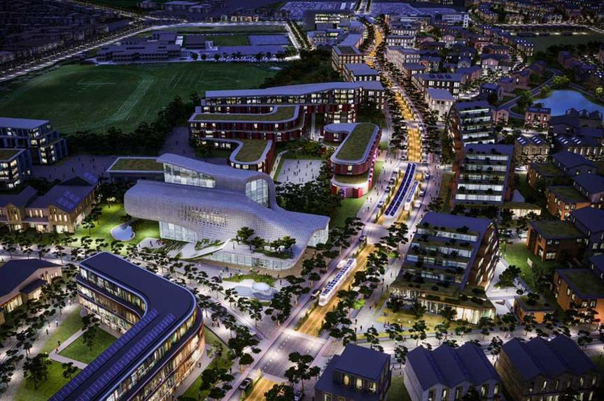 A visualisation of the Toton development (pic: East Midlands Development Corporation)