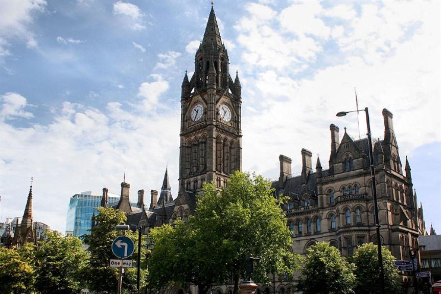 Manchester Town Hall - image: Robert Cutts (CC BY 2.0)