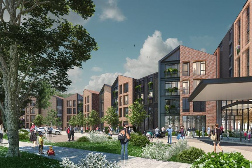 A visualisation of the proposed development - image: Guild Living