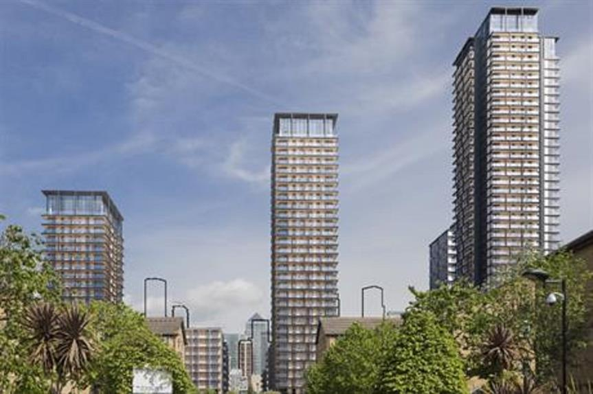A visualisation of the Westferry development. Pic: Westferry Development