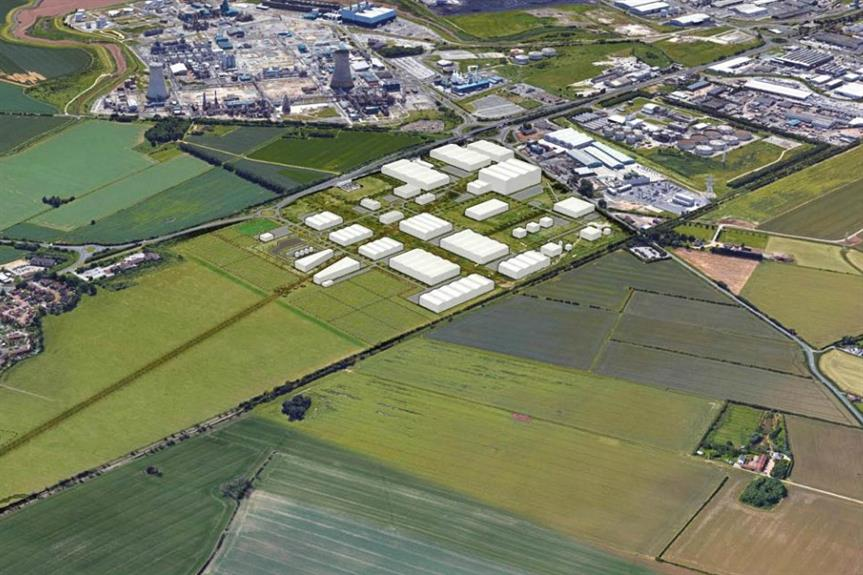 A visualisation of the Yorkshire Energy Park scheme. Pic: Sewell Group
