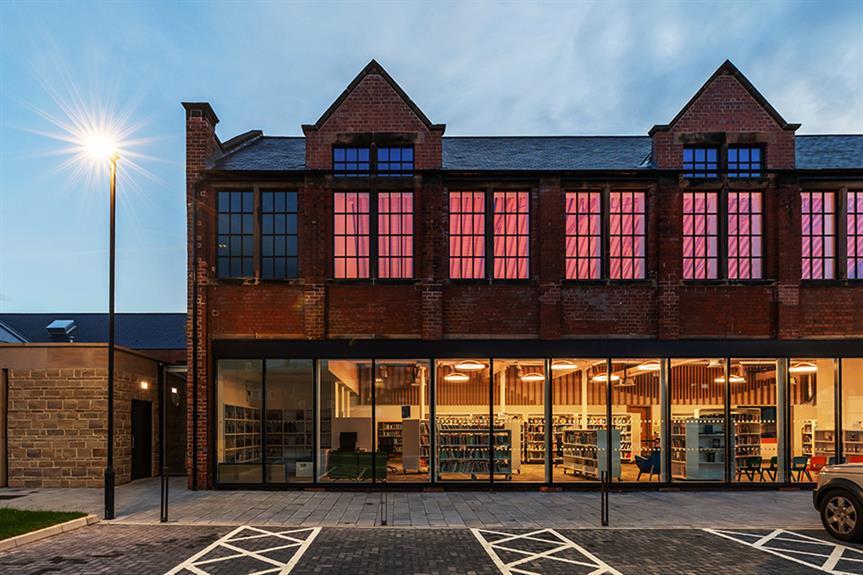 The Ada Belfield Centre and Belper Library