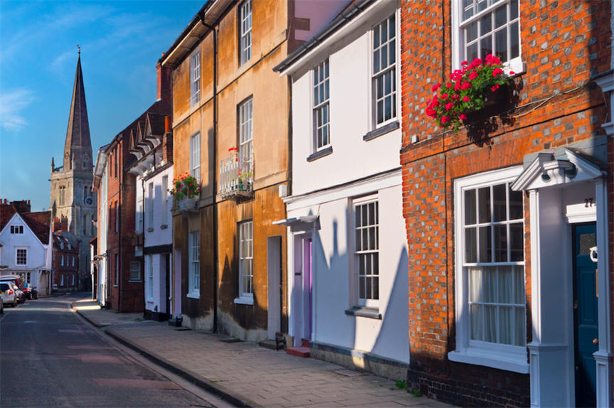 West St. Helen Street in Abingdon, South Oxfordshire (Pic: Getty)