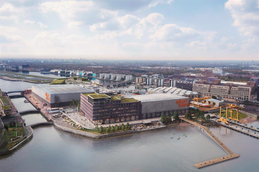 The proposed development on Albert Island (Pic: Avison Young)