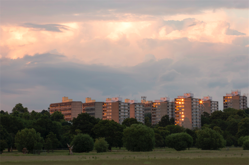 View of Alton Estate in Roehampton from Richmond Park (Pic: Getty)