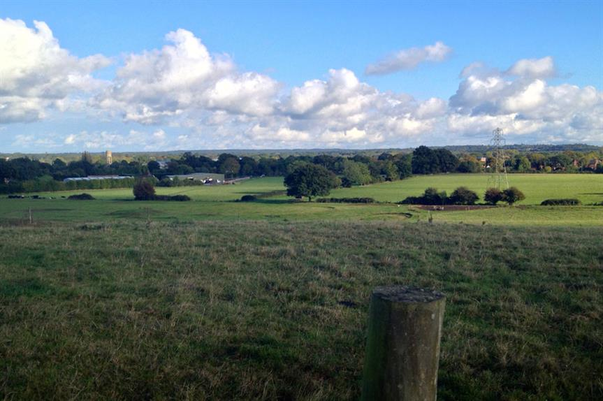 Land close to the Arborfield Garrison site near Wokingham (pic Richard Peat via Flickr)