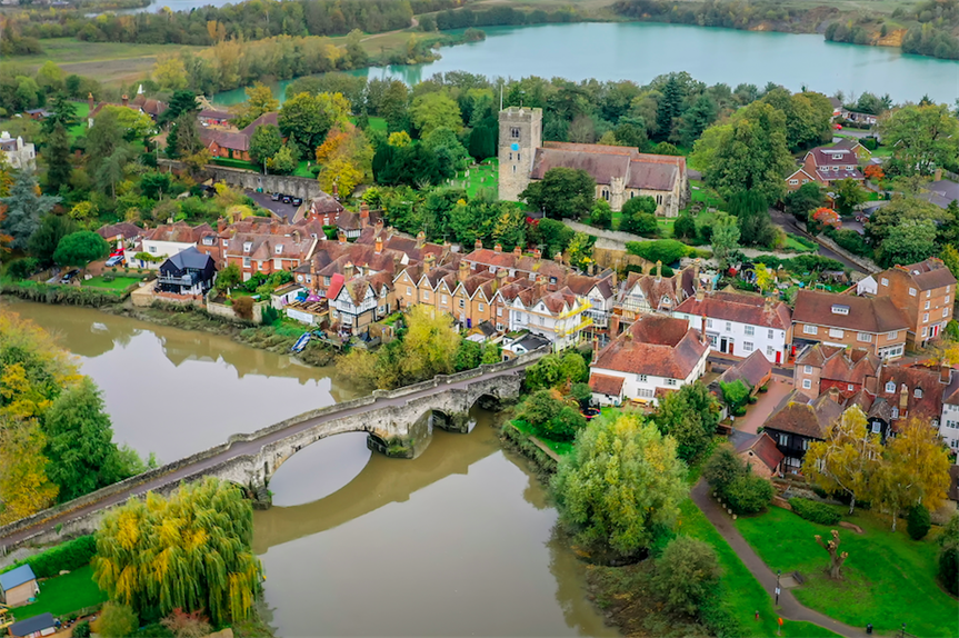 Aylesford village in Tonbridge and Malling (Pic: Getty)