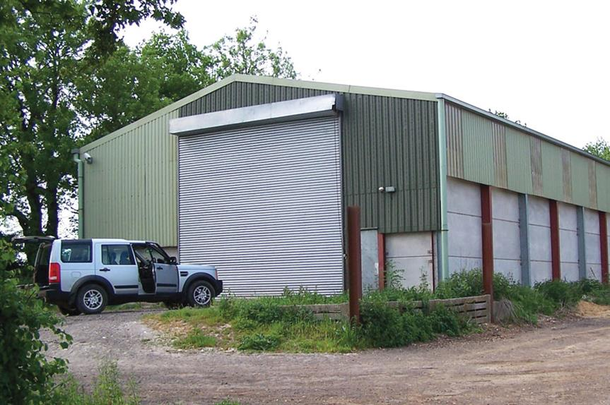 Barns: projects do not confine themselves to reuse of brick buildings
