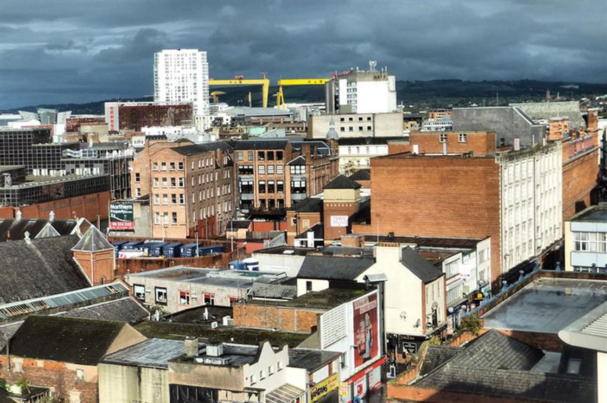 Belfast: five regeneration areas planned