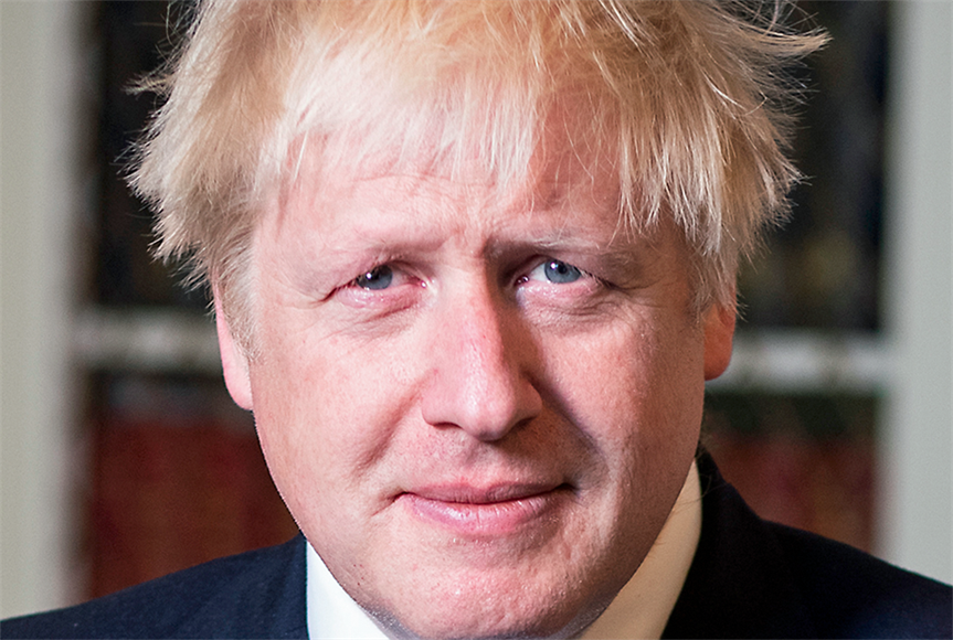 Conservative Party leader Boris Johnson. Image by Cabinet Office
