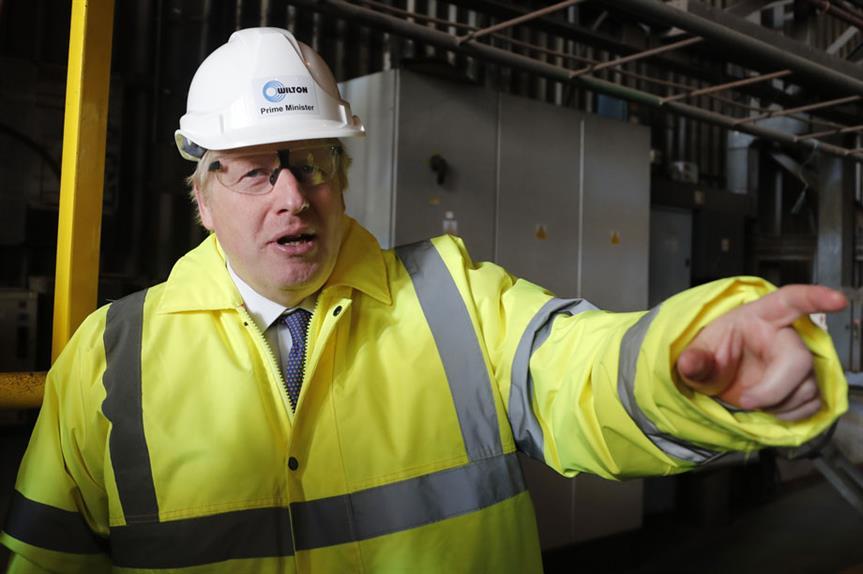 Prime Minister Boris Johnson on the campaign trail (pic: Getty)