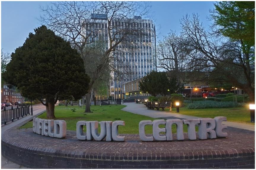 Enfield Council in the Civic Centre (Pic: Geograph.org, by Christine Matthews, licensed under CC BY-SA 2.0)