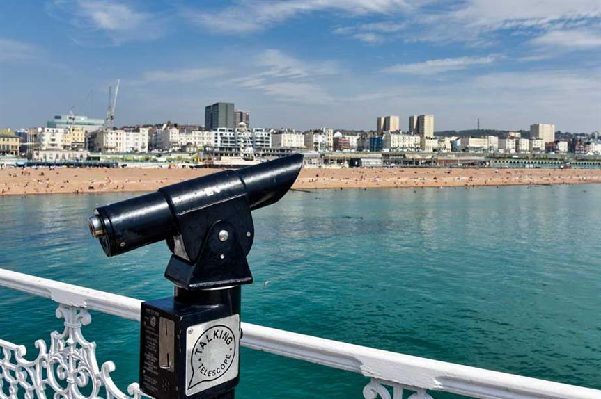 Brighton and Hove: One of only six CIL schedules approved last year (pic: Getty)