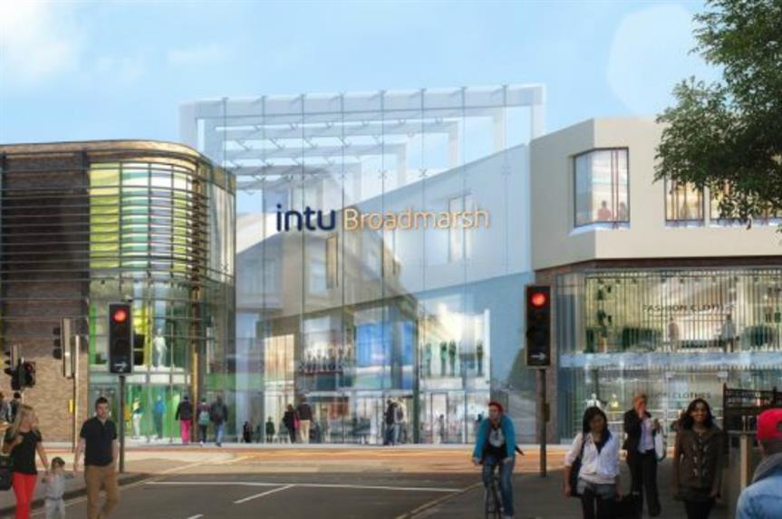 Broadmarsh: revamp plans submitted