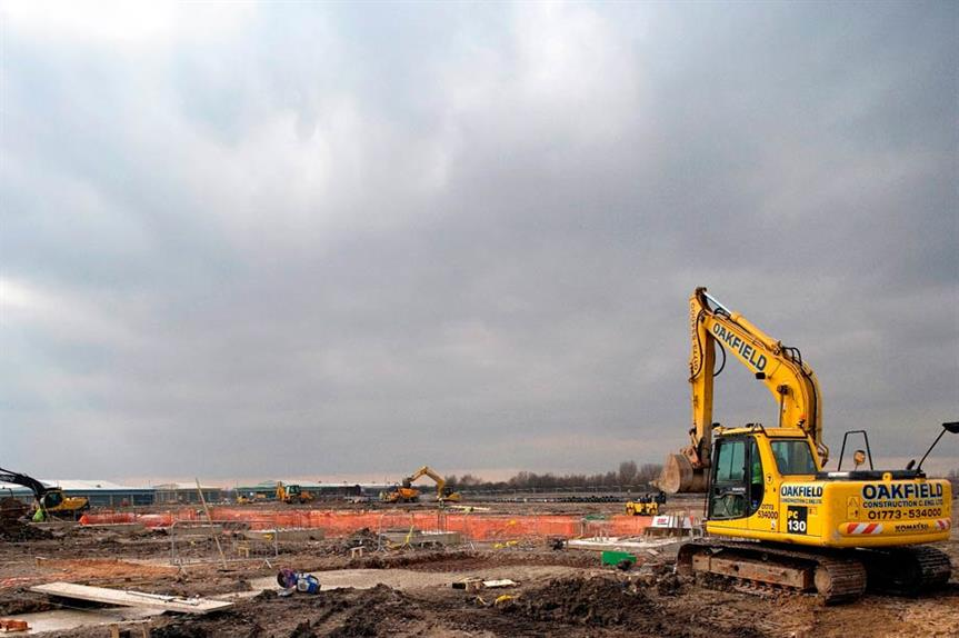 Brownfield: initiative would see sites exempted from 'planning costs'