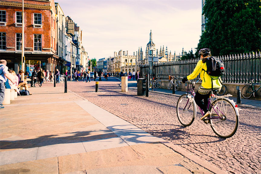Cambridge is a leading cycling city (Pic: Getty)