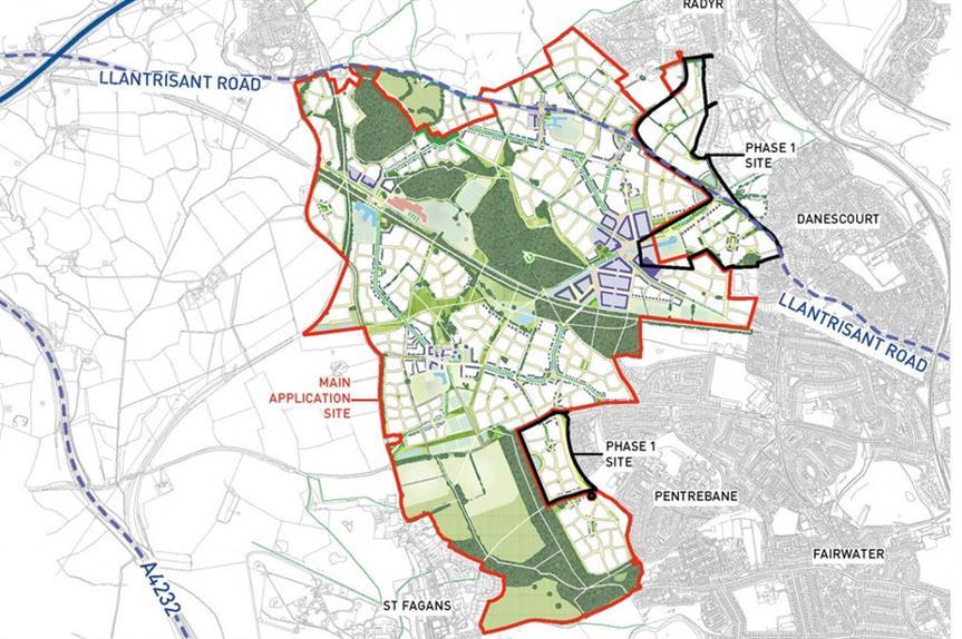 Plasdŵr: scheme could see 7,000 homes built
