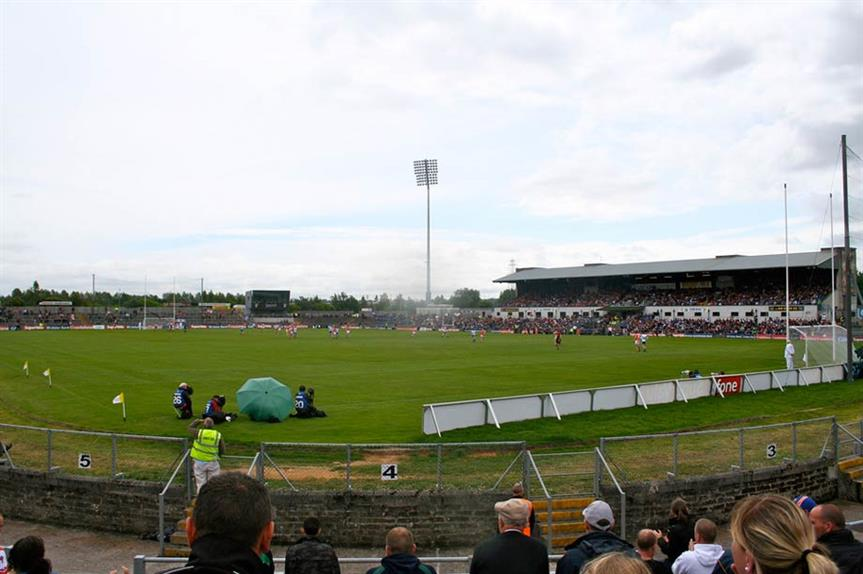 Casement Park: High Court ruling this week (picture by Robin Kirk)