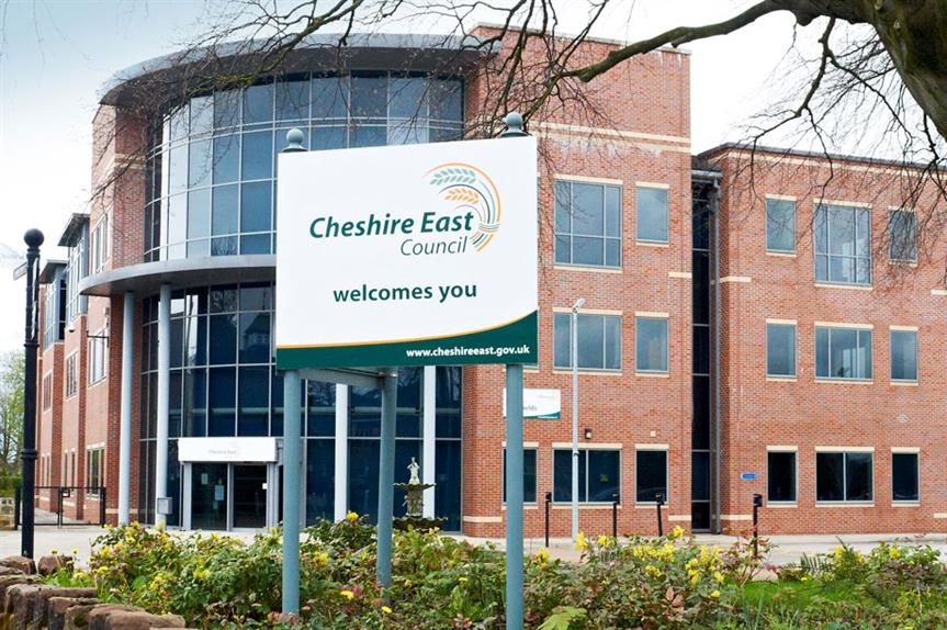 Cheshire East: argues that plan was submitted ahead of planning policy guidance