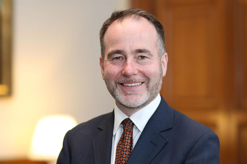 Housing minister Christopher Pincher. Image: MHCLG