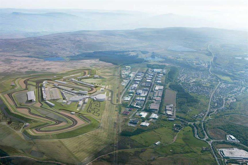 Circuit of Wales: common land deregistration approved
