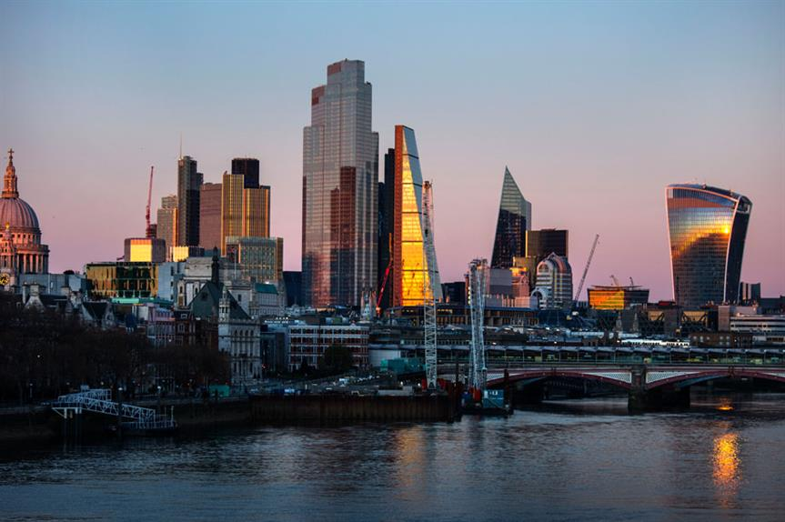 The City of London (pic: Getty)