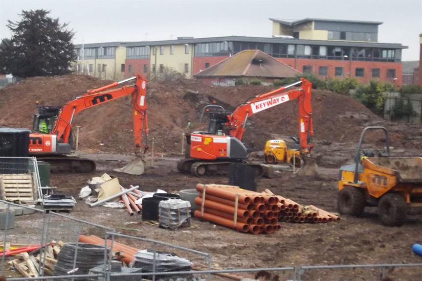 Construction: housebuilders flag planning delays
