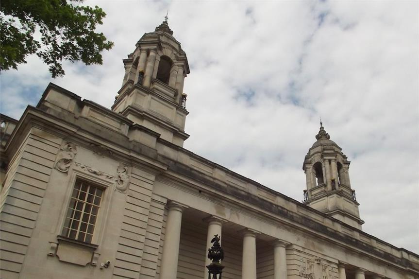 Cardiff City Hall. Pic: Ell Brown is licensed under CC BY-SA 2.0