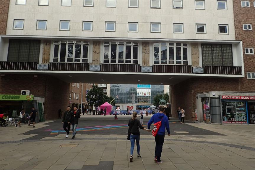 Coventry city centre (pic: Gwydion M. Williams, Flickr)
