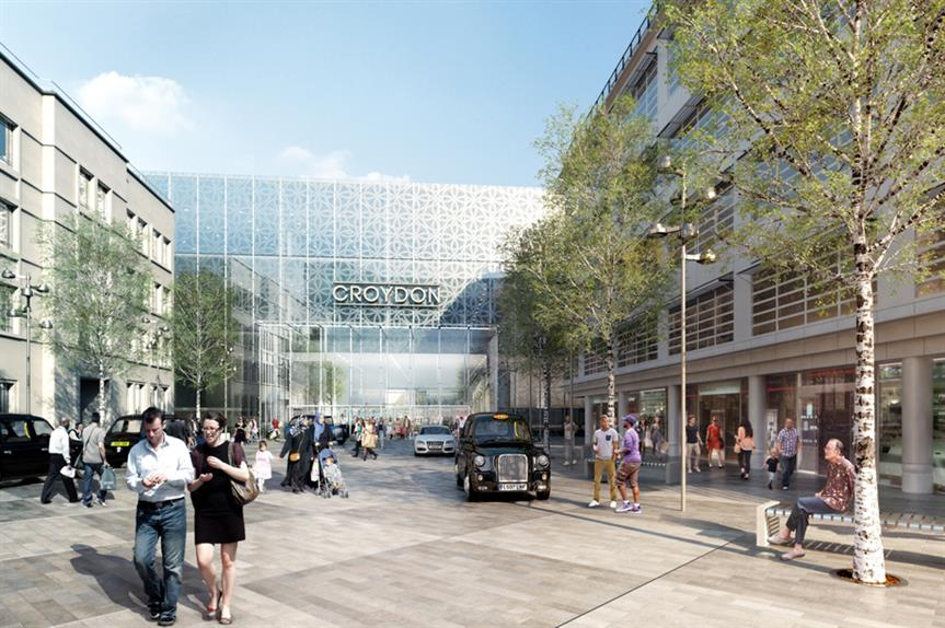 Croydon redevelopment: the local authority is one of six to have no in-person representations