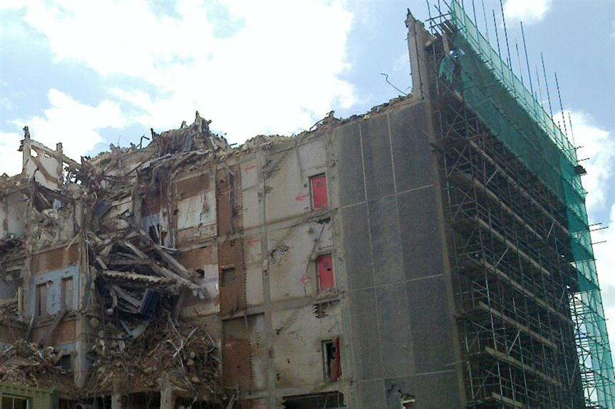 Demolitions: new PD right on the way