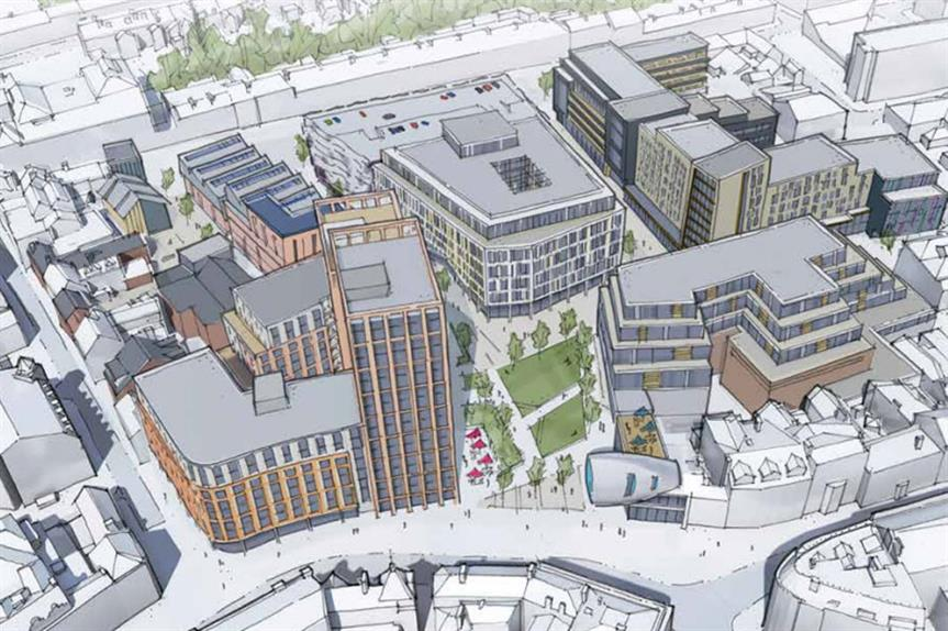 A visualisation of the finished scheme (pic: St James Securities)