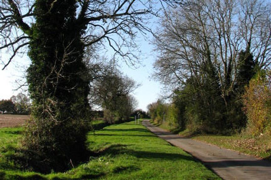 Countryside between Dereham and Fakenham (pic: Evelyn Simak via Geograph)