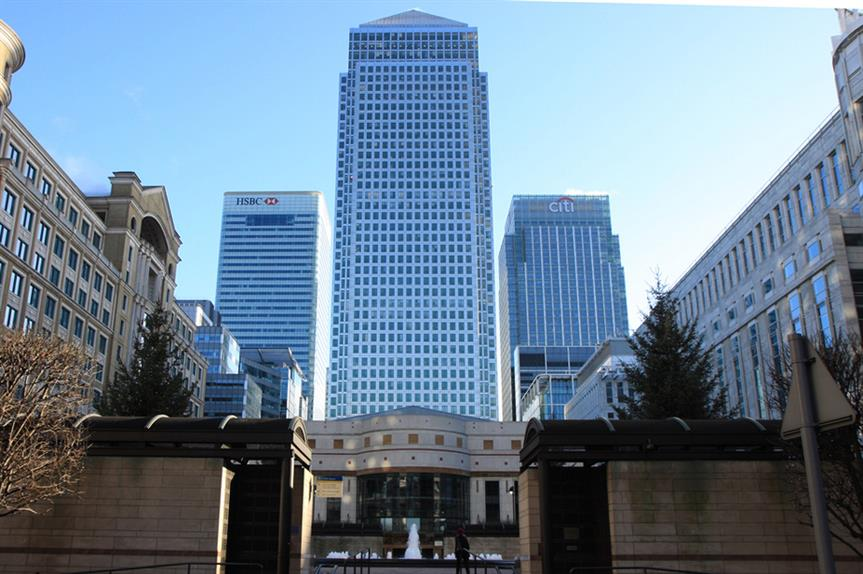 London's Canary Wharf