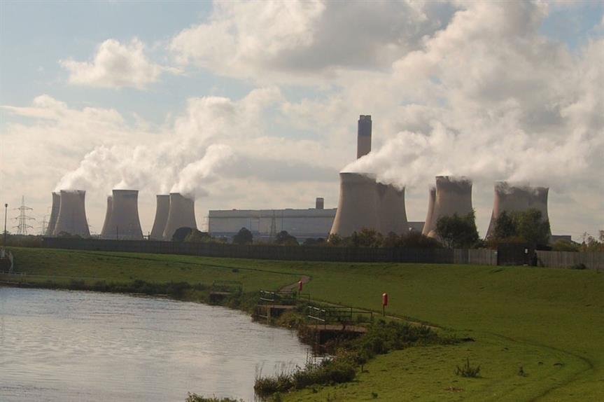 The existing power plant at Drax (pic David Locke via Flickr)