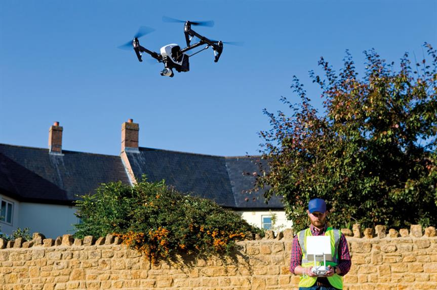 Unmanned aerial vehicles: drones can be used to assess planning applications and enforcement breaches (pic: Getty Images)