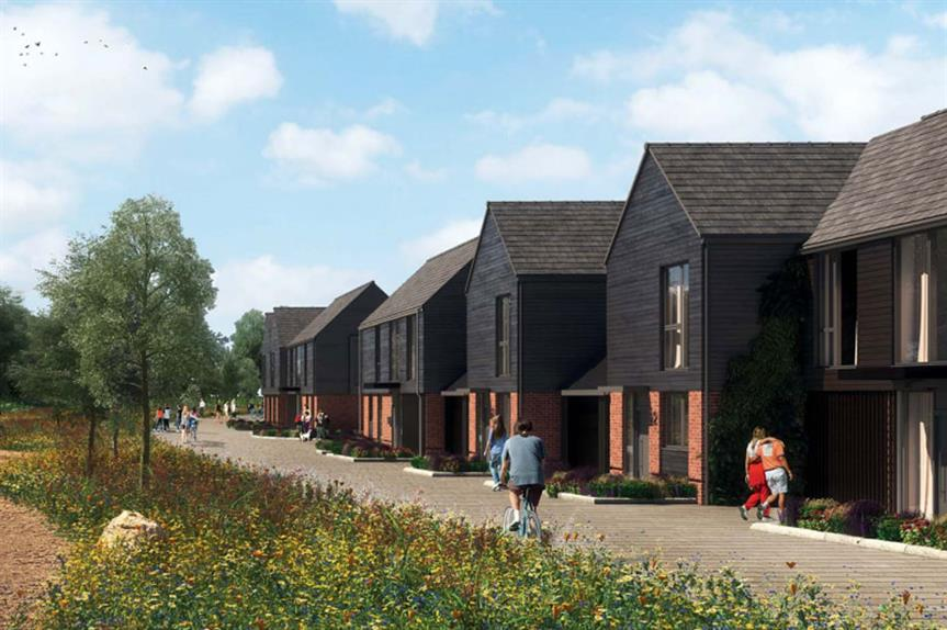 A visualisation of the finished development (pic: Tolent Ltd)