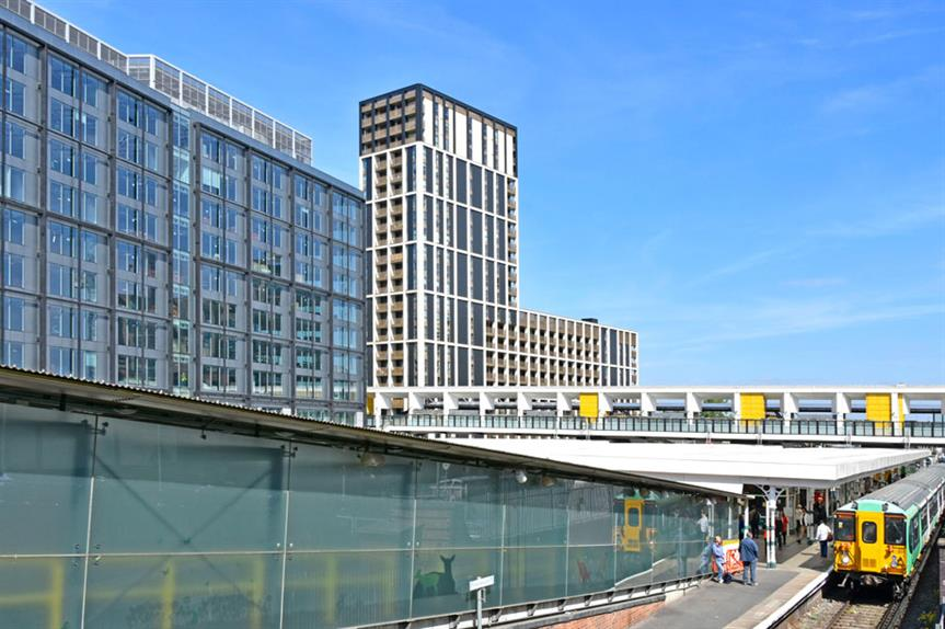 High-density development: the commission says that co-location can reduce pressure on the transport network