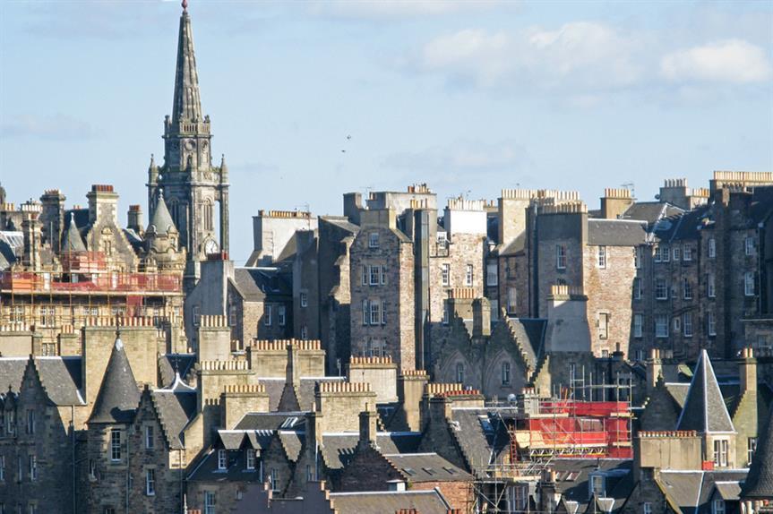 Edinburgh: one of six SESplan councils