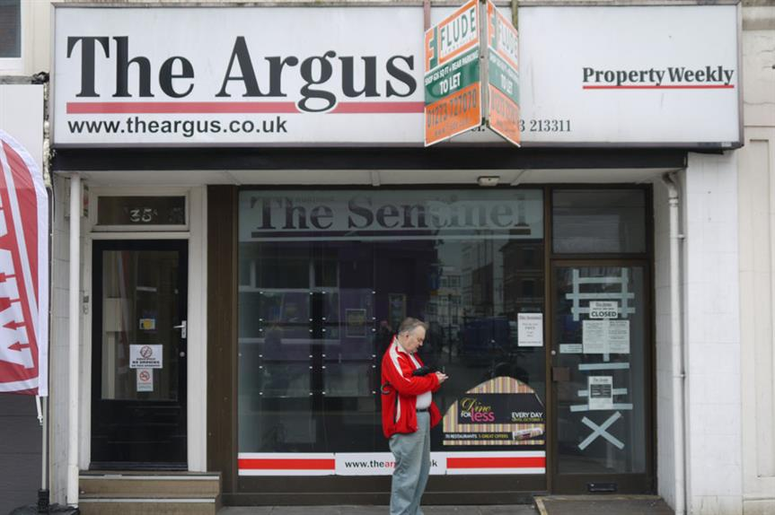 Empty shop: report calls for strengthened town centre-first policy