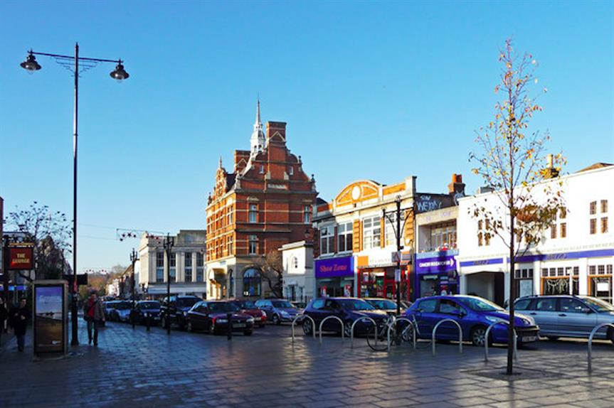 Enfield town centre: High office-to-resi PD right refusal rate. Pic: Christine Matthews (CC BY-SA 2.0)