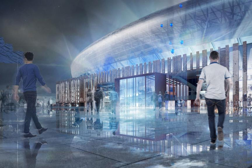 A visualisation of the finished scheme (pic: Everton FC)