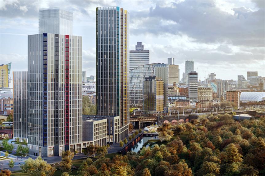 A visualisation of the Victoria Riverside proposals (Pic: FEC)