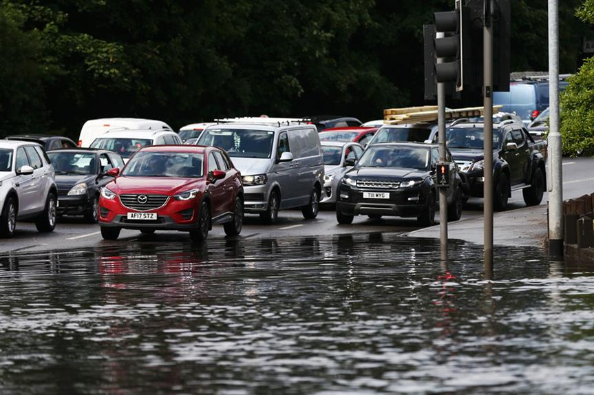 Surface water flooding (Pic Getty)