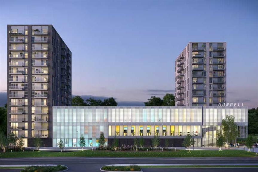 A visualisation of the finished scheme (pic: BE:HERE EALING LIMITED)