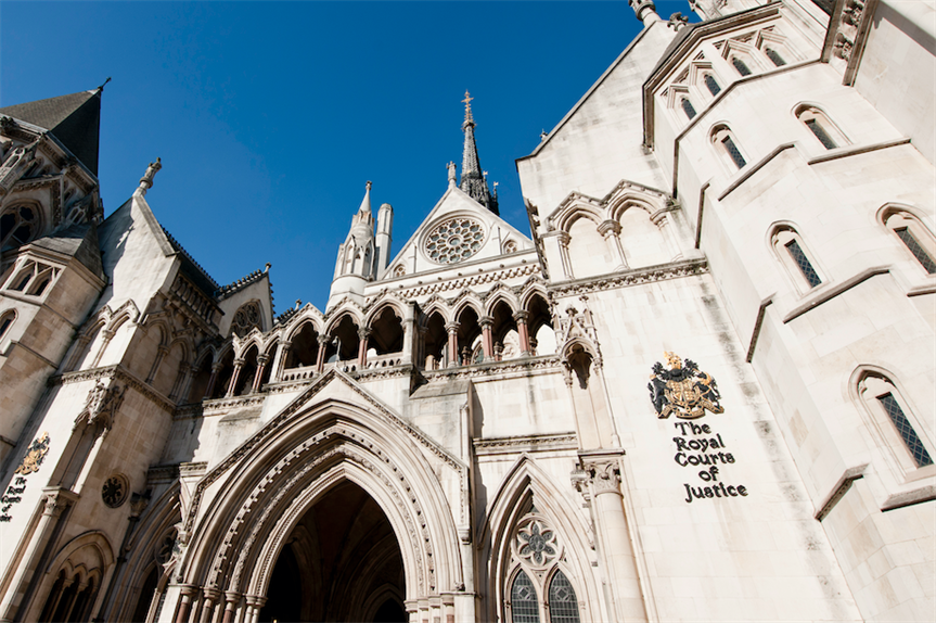 Royal Courts of Justice (Pic: Getty)