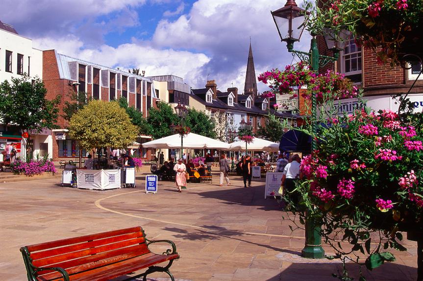 Horsham town centre (Pic: Getty)