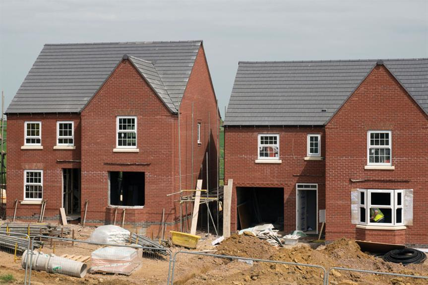 Small housing sites: guidance could switch burden from affordable homes to levy [pic Alamy]